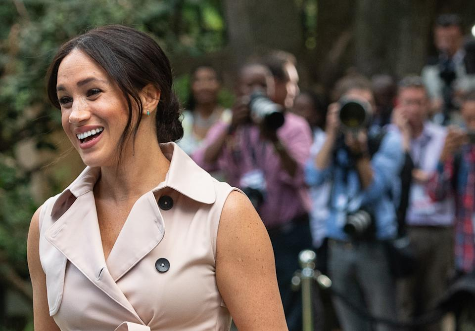 """The Duchess of Sussex gave birth to Archie in May, then later in the year admitted she had """"no idea"""" of the media scrutiny she would face as part of the royal family. She sued the Mail on Sunday for publishing parts of a letter to her father (Picture: PA)"""