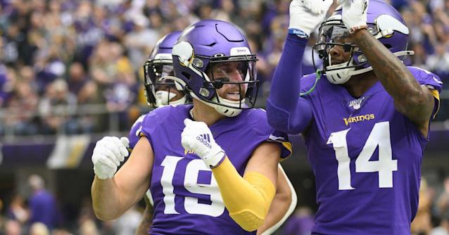 Which Vikings WR poses the biggest threat to the Lions?