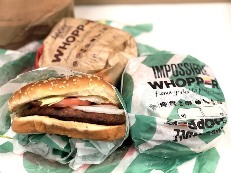 We Compared the Impossible Whopper to an All-Beef Whopper