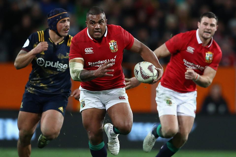 <p>Kyle Sinckler on the charge for the Lions in 2017</p> (Getty Images)