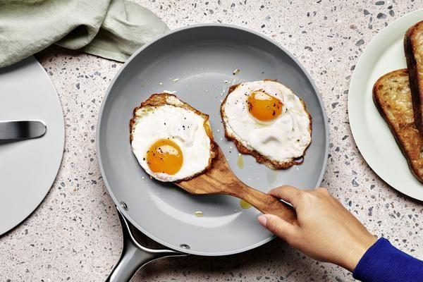 """<p>Ceramic cookware has a ton of benefits: It's non-toxic, non-stick, and it's pretty easy to clean. Plus, it's actually better for the planet! <a href=""""https://go.redirectingat.com?id=74968X1596630&url=https%3A%2F%2Fwww.carawayhome.com%2F&sref=https%3A%2F%2Fwww.housebeautiful.com%2Fshopping%2Fg36202838%2Fbest-direct-to-consumer-cookware%2F"""" rel=""""nofollow noopener"""" target=""""_blank"""" data-ylk=""""slk:Caraway"""" class=""""link rapid-noclick-resp"""">Caraway</a> has traditionally been the millennial go-to when it comes to DTC cookware and for good reason. The brand's mission is to create well-crafted and good-for-you cookware, which is exactly what they've done. While pans are available in a set, you can also purchase each piece separately. Don't love it? The brand offers a 30-day trial period, so you can return it no questions asked. Plus, each is available in a few different colorful hues. </p>"""