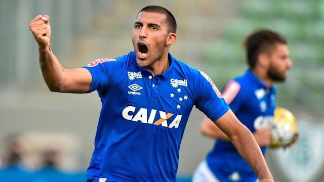 The former Huracan sharpshooter went too ground rather theatrically, but came back with a lovely goal to seal a 2-1 victory for the Brazilians