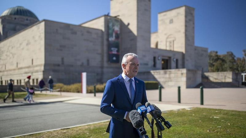 Australian War Memorial Director Dr Brendan Nelson is stepping down after seven years in the role