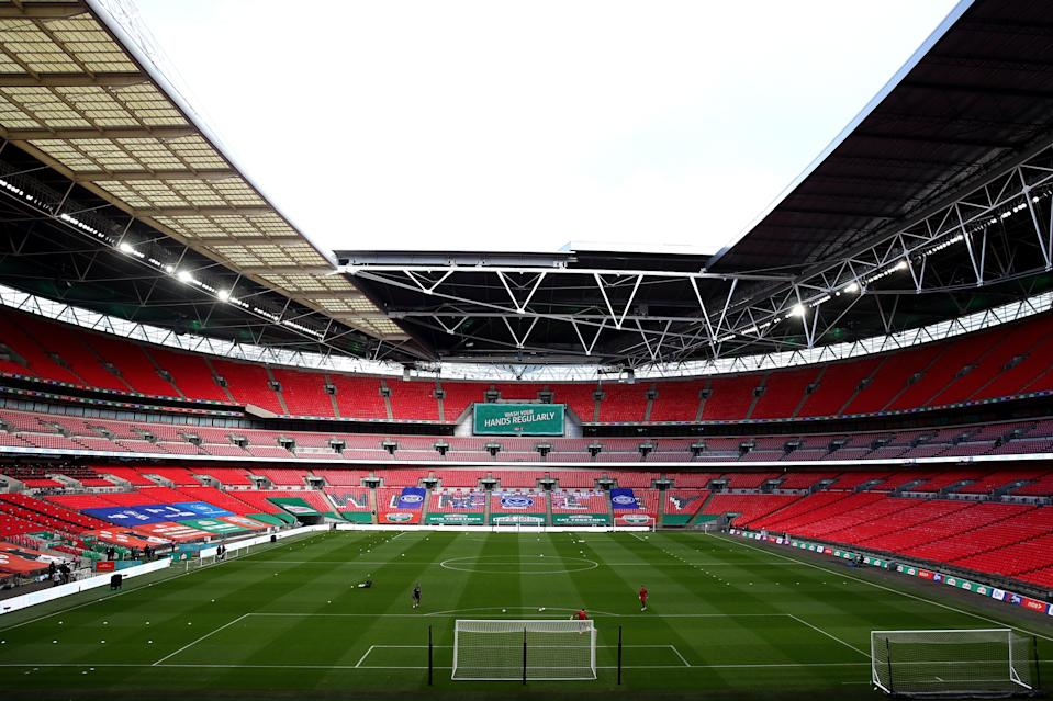 <p>2,000 Tottenham fans can attend the Carabao Cup final at Wembley next weekend</p> (Getty Images)