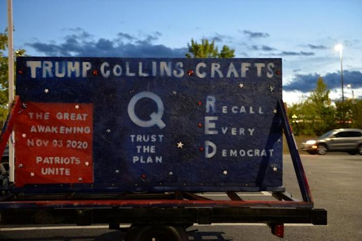 The FBI has identified QAnon as among several conspiracy theories that could potentially lead to extremist violence