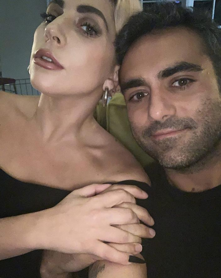 Lady Gaga and Michael Polansky have been self-isolating together.