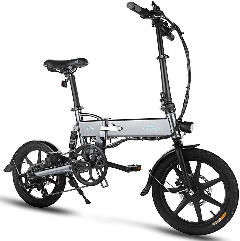 "<h3>FIIDO D2S Folding EBike</h3> <br><strong>Best For:</strong> <strong>Small Offices</strong><br>If you don't have available street space or room in your office or home to store a bike, you might feel like the bike-to-work option is closed to you. This foldable electronic bike, however, can go in a small utility closet or even under a desk during the day. <br><br><strong>Good To Know: </strong>This might not be a great bike if you also want to bike for fun on the weekends, but if you primarily want to get to and from your workplace without much huffing and puffing, this is a great option. <br><br><strong>What Happy Bikers Say</strong>: ""It is a solid, well-made bike. The motor is plenty strong and the battery sufficient... It made it possible for me to run errands again on a bike. I'm very satisfied with this bike and I do recommend it!""<br><br><strong>Fiido</strong> D2S Folding EBike, $, available at <a href=""https://www.amazon.com/FIIDO-Aluminum-Lithium-Ion-Professional-Quick-Shift/dp/B0876MH43M"" rel=""nofollow noopener"" target=""_blank"" data-ylk=""slk:Amazon"" class=""link rapid-noclick-resp"">Amazon</a><br><br><br><br><br><br>"