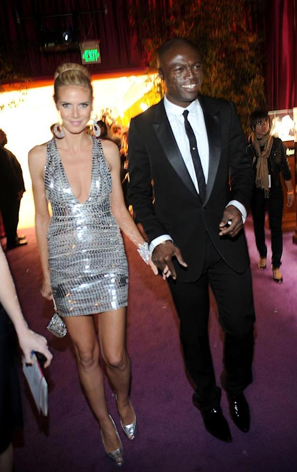 "<a href=""http://movies.yahoo.com/movie/contributor/1804328244"">Heidi Klum</a> and <a href=""http://movies.yahoo.com/movie/contributor/1800166298"">Seal</a> attend the 16th Annual Elton John AIDS Foundation Oscar Party at the Pacific Design Center in West Hollywood - 02/24/2008"