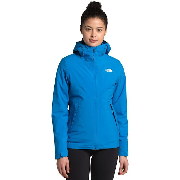 The North Face - Carto Triclimate Hooded 3-In-1 Jacket - Women's - Clear Lake Blue