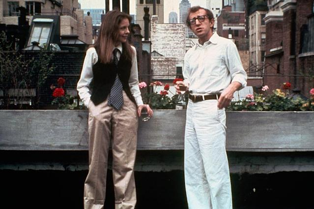 "Diane Keaton starred alongside Woody Allen in 1977's ""Annie Hall."" (Photo: Getty Images)"