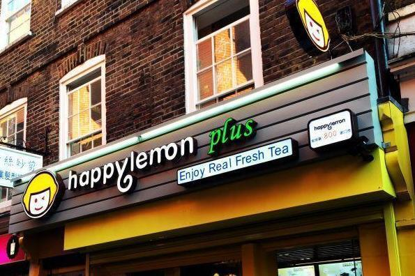 Happy Lemon storefront in Chinatown (Happy Lemon UK)