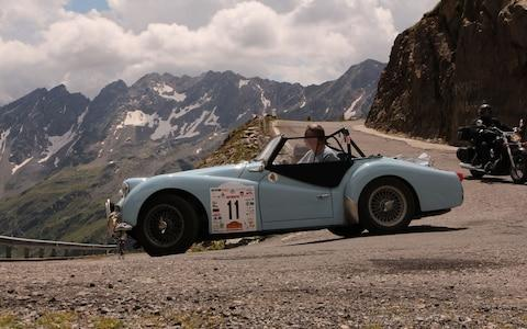 1960 Triumph TR3a - ownered by Andrew English - 2019 Liège-Brescia-Liège road rally - Credit: www.classicrallypress.co.uk