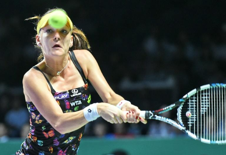 Agnieszka Radwanska (pictured) is one of Maria Sharapova's fiercest critics