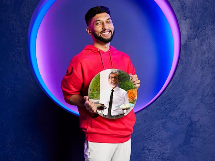 The Circle series three finalist Hashu, who played the game as restaurant owner Syed (Channel 4)