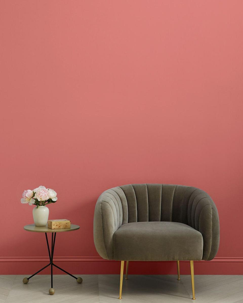 """<p>clare.com</p><p><strong>$54.00</strong></p><p><a href=""""https://www.clare.com/paint/wall/pink-sky"""" rel=""""nofollow noopener"""" target=""""_blank"""" data-ylk=""""slk:Shop Now"""" class=""""link rapid-noclick-resp"""">Shop Now</a></p><p>After becoming frustrated with the process of shopping for paint, designer Nicole Gibbons took matters into her own hands with the launch of Clare in 2018. I have my eyes on the paint brand's Pink Sky shade.</p>"""