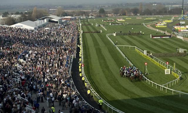 "<span class=""element-image__caption"">Trainers and punters are preparing for next week's three-day Grand National race-meeting at Aintree.</span> <span class=""element-image__credit"">Photograph: Oli Scarff/AFP/Getty Images</span>"