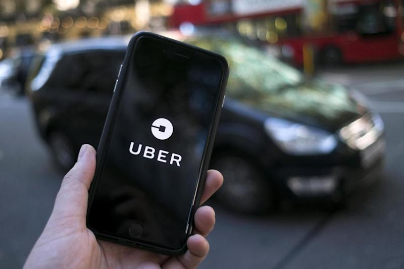 Uber has been stripped of its licence to operate in London (EPA)