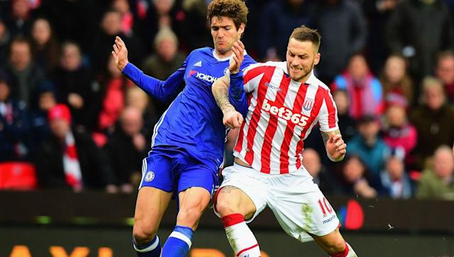 <p>Chelsea's resilience was put to the test against Stoke City on Saturday with the Blues needing a late Gary Cahill goal to secure all three-points at the Britannia Stadium.</p> <br><p>Antonio Conte's side now hold a whopping 10 point lead at the top of the table, and with just 10 games to play it would take something spectacular for Chelsea to squander their lead from here.</p> <br><p>One of the many keys to success for Chelsea this season has been their newfound never say die attitude, which simply wasn't there with the west Londoners last season.</p> <br><p>The Blues lost twice at the Britannia Stadium last season but there was no chance of the same this time around. Conte seems to have instilled a level of belief at Chelsea not seen since the title-winning season of 2014/15.</p>