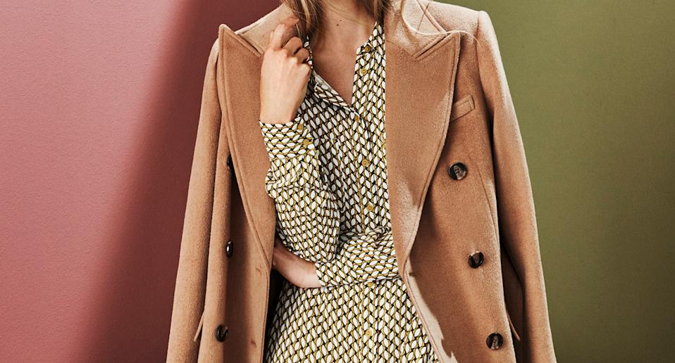 The M&S coats we're adding to our wish list this autumn. (Marks & Spencer)