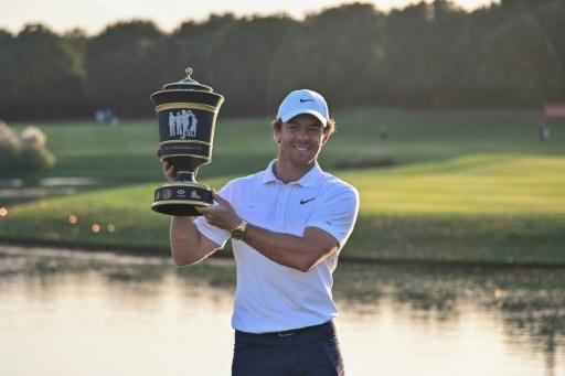 McIlroy won his fourth title of 2019 in Shanghai earlier this month