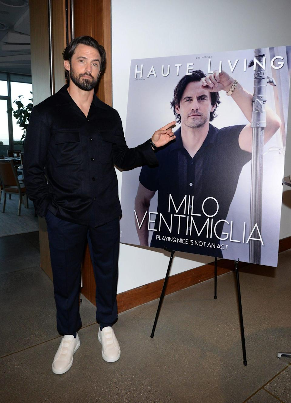 <p>Milo Ventimiglia attends <em>Haute Living</em> Celebrates Milo Ventimiglia at the 1 Hotel West Hollywood on July 28 in West Hollywood.</p>