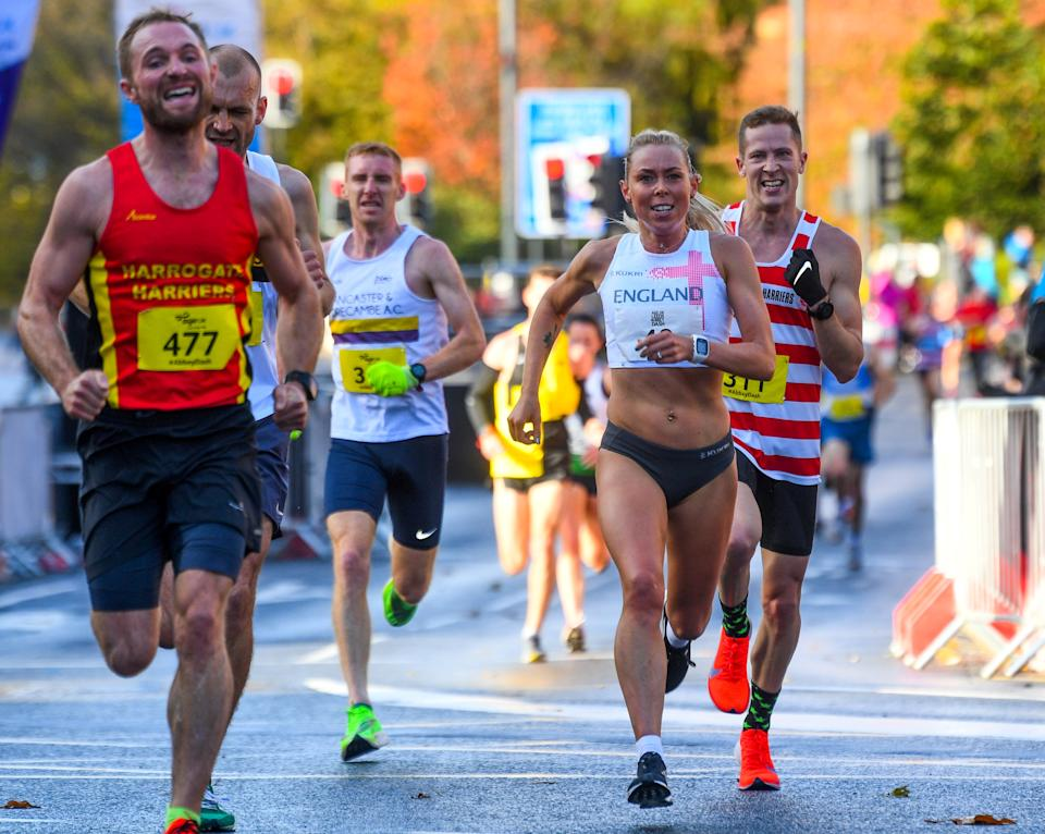 Leeds Abbey Dash 2019 runners were told their times would not count (Picture: SWNS)