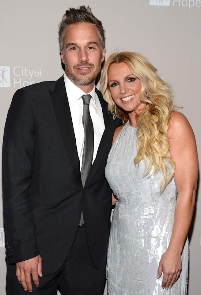 "Britney Spears and former agent Jason Trawick called off their relationship a little more than a year after they announced their engagement. <a href=""http://omg.yahoo.com/blogs/relationships/britney-spears-reportedly-splits-fianc%C3%A9-jason-trawick-resentful-000315648.html"">The farewell</a> came around the same time the pop star announced her departure as a judge on ""The X Factor,"" giving Brit Brit a nasty one-two punch to start 2013."