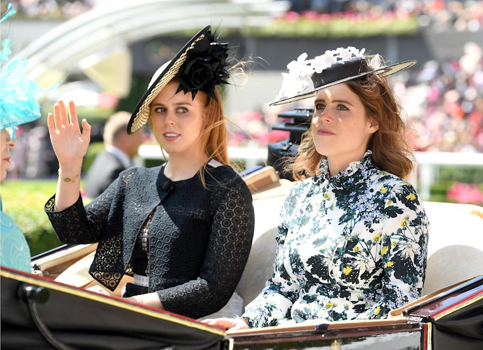 Princesses Beatrice and Eugenie are the royals to look to when on the hunt for fascinator inspiration [Photo: Getty]