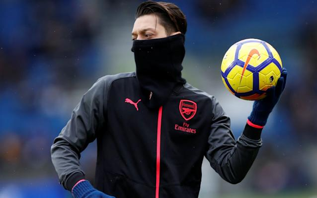 1:49PM 18 mind Dunk's got the taste for it! He's got his first PL goal, and he's about two feet away from his second here. Rises splendidly from the corner, plants the heid on it, but his header is over the bar. Oh, Arsenal. What a shower. 1:48PM 17 mins That Izquierdo is a talented lad, pacy, direct, dangerous. He makes a good run down the left flank now, cuts inside, fires a shot at goal. Deflected behind for a corner. Good delivery here and Brighton could be in business. 1:45PM 15 mins Iwobi with a nice touch, looking to slip Ozil in, but Brighton are defending keenly. 1:44PM 12 mins The Gunners manage to get their foot on the ball after a torrid spell where they looked like they could easily go 0-2 1:40PM 9 mins It's all Brighton! Arsenal all over the shop, here's Gross haring down the left, he cracks it goalward and Brighton have another corner. That corner over the box, flashed back in dangerously and that only needed a touch. Wenger looks grim on the bench. 1:38PM GOAL! BRIGHTON TAKE THE LEAD! DUNK!!!! From that corner, Cech comes out waving at his mother, Duffy heads it back across and there's the boy Dunk to smash it home! Dunkin Donuts! Cech tried and failed to get the ball, totally selling himself, the headers back across left him no chance and big Lewis Dunk put his boot through it for his first PL goal. 1:37PM 6 mins Schelotto tears down the right, this is the first time Brighton have touched the ball almost, and he wins a corner. 1:36PM 5 mins Ball's whipped in from the right and Lewis Dunk, something of an own goal specialist, swings a boot at it and slices it alarmingly close. 1:34PM 3 mins It's all Arsenal in these early stages, they are dominating both ball and territory. The ball is laid off to Ozil, who fires his shot over. It would be VERY Arsenal to give Brighton an absolute pumping today. 1:31PM 1 mins Right then. Let the rage begin. Here's Aubameyang making some good ground down the left, he wins a corner, it is cleared sans difficulty. 1:29P