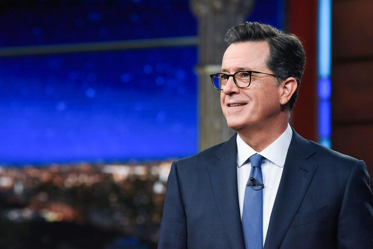 """<p>Stephen Colbert is known for making other people laugh, but that doesn't mean he hasn't gone through his own mental health struggles, even at a young age. """"I had a bit of a nervous breakdown after I got married—kind of panic attacks. My wife would go off to work and she'd come home—because I worked at night— and I'd be walking around the couch,"""" Colbert revealed in a <a href=""""https://www.rollingstone.com/tv/tv-features/stephen-colbert-late-show-rolling-stone-interview-716439/"""" target=""""_blank"""">2018 interview with <em>Rolling Stone</em></a>. """"And she's like, 'How was your day?' And I'd say, 'You're looking at it.' Just tight circles around the couch."""" The 55-year-old talk show host says medication has been a huge help.</p>"""