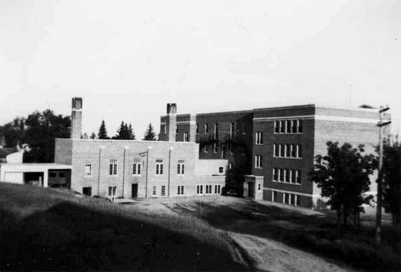 FILE PHOTO: The Brandon Indian Residential School is seen in Brandon