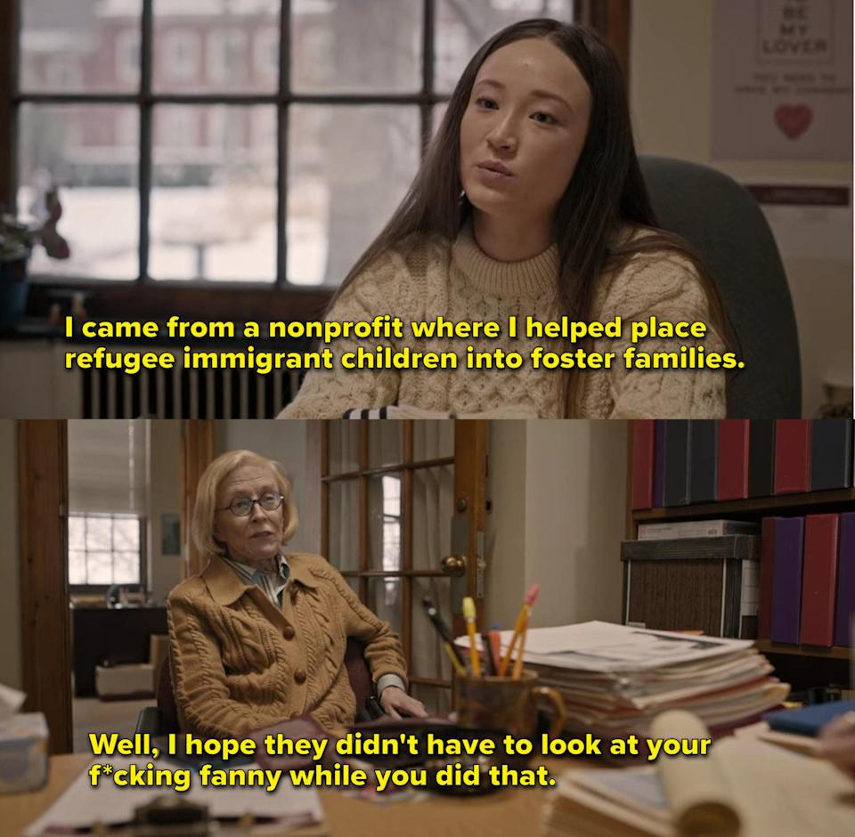 Joan and Title IX officer