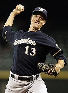 "Even Zack Greinke, the Brewers' most reserved player, noted that ""no one really likes"" Cards pitcher Chris Carpenter"