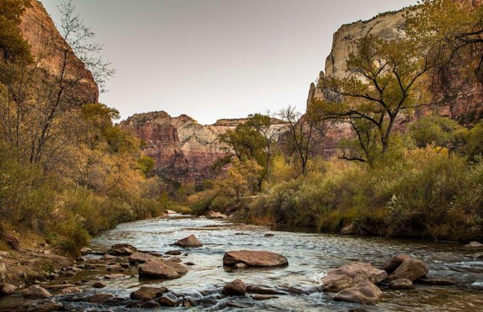 <p>Springdale has a population of about 609, making it one of the smallest towns on this list... so if you're looking for a seriously small town, this is it! Nestled at the edge of Zion National Park, this is a perfect spot for a view of the mountains while shopping for crystals or geodes. </p>