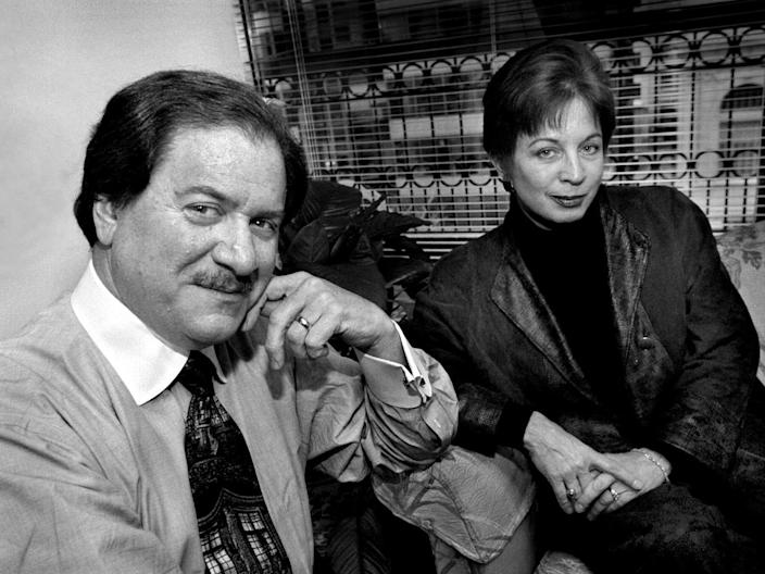 Joseph DiGenova and Victoria Toensig work together and are married.