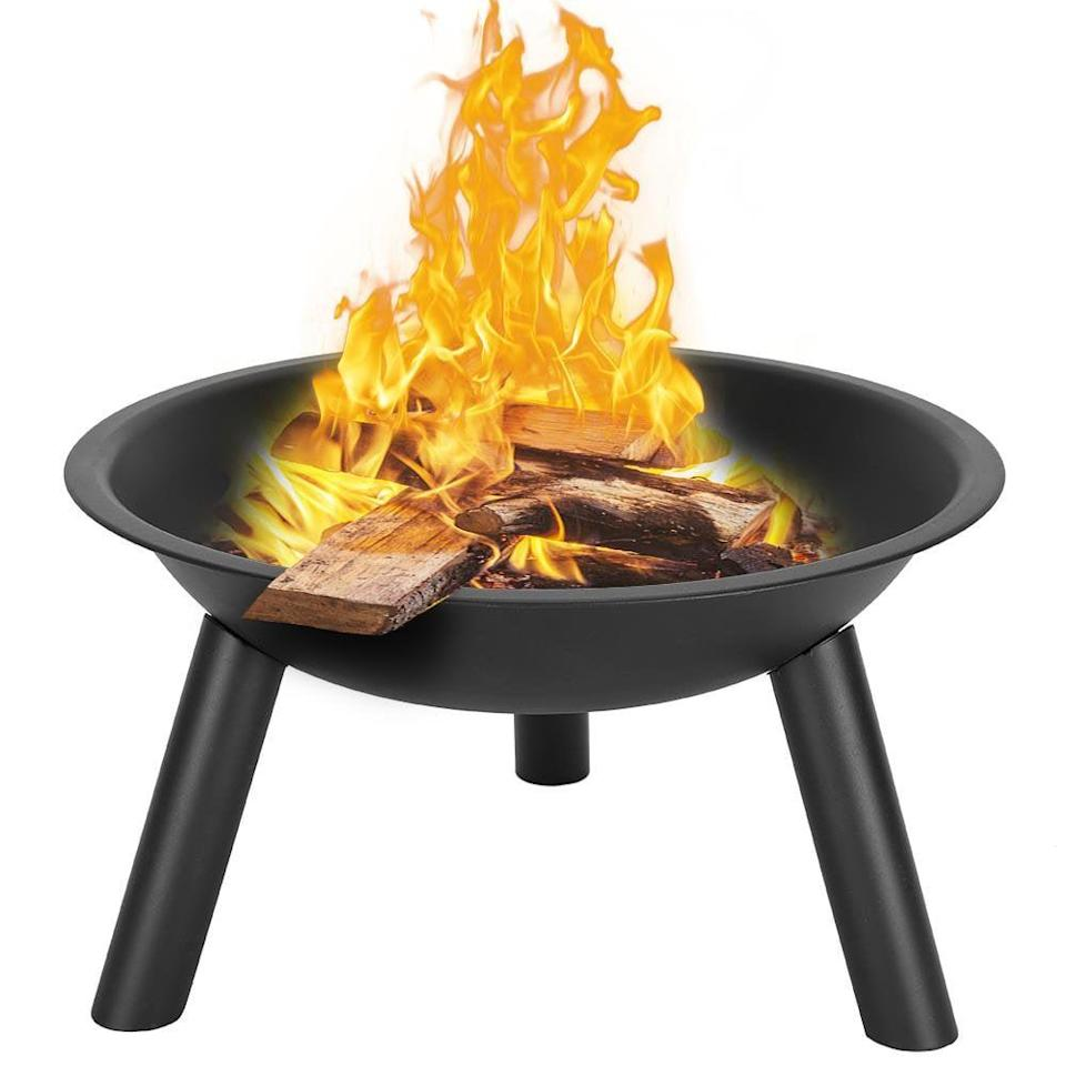 <p>With an open top, this <span>BBQ Grill Portable Wood-Burning Fire Pit</span> ($37, originally $93) is the ideal spot to roast marshmallows.</p>