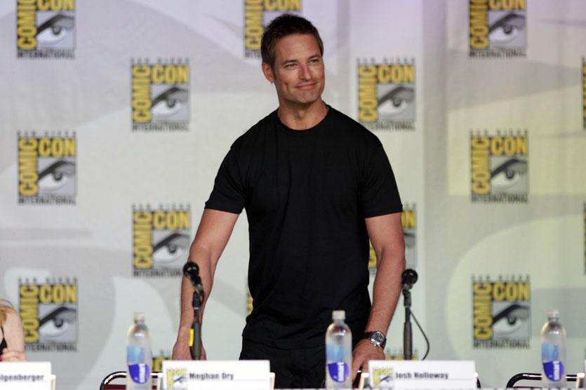 "Josh Holloway onstage at the ""Intelligence"" panel during Comic-Con International 2013 at San Diego Convention Center on July 18, 2013 in San Diego, California."