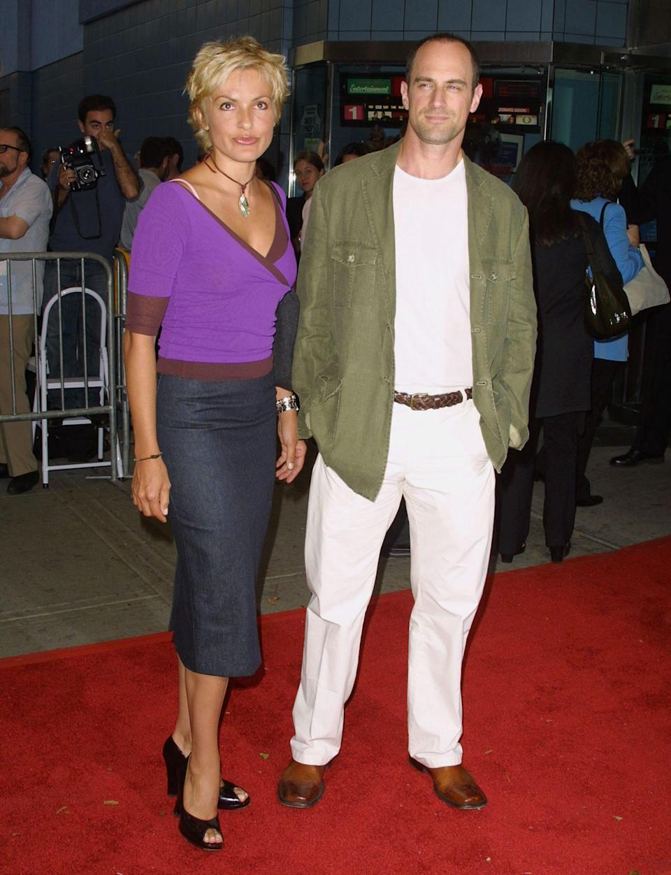 <p>Milestones that included seeing each other get married and have children ... and this blonde hair that Hargitay rocked in 2001. </p>