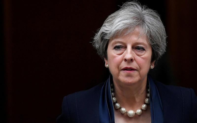 A man has been charged with planning an attempt on Theresa May's life - REUTERS