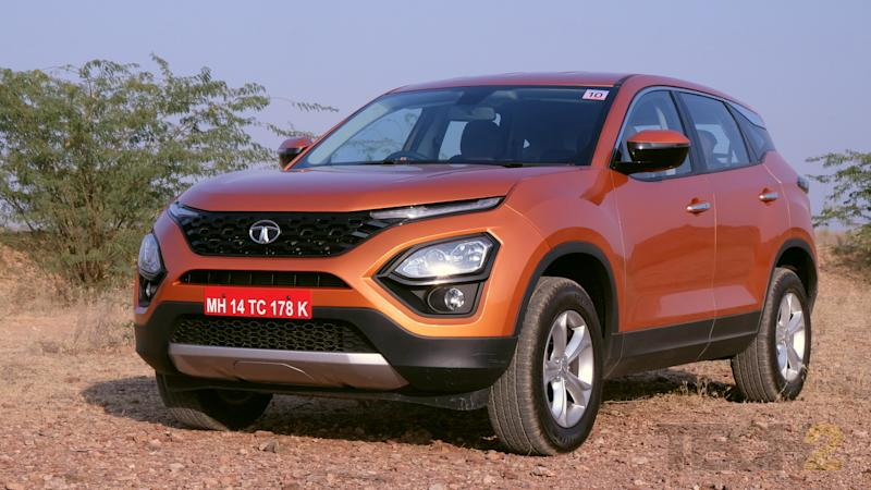 The Tata Harrier will be launched in January. Image: tech2/ Ankit Vengurlekar