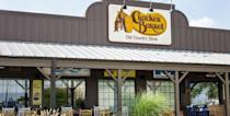 """<p>Thanksgiving is Cracker Barrel's busiest day of the year. Fun fact: The restaurant actually serves Thanksgiving dinner every Thursday (ask for the Thursday Turkey N' Dressing special).</p><p>On Thanksgiving Day, every location is open during regular hours (6 a.m. to 10 p.m.) preparing dine-in meals as well as several carryout options.</p><p><strong><a href=""""https://crackerbarrel.com/locations"""" rel=""""nofollow noopener"""" target=""""_blank"""" data-ylk=""""slk:Find a location"""" class=""""link rapid-noclick-resp"""">Find a location</a>.</strong></p>"""