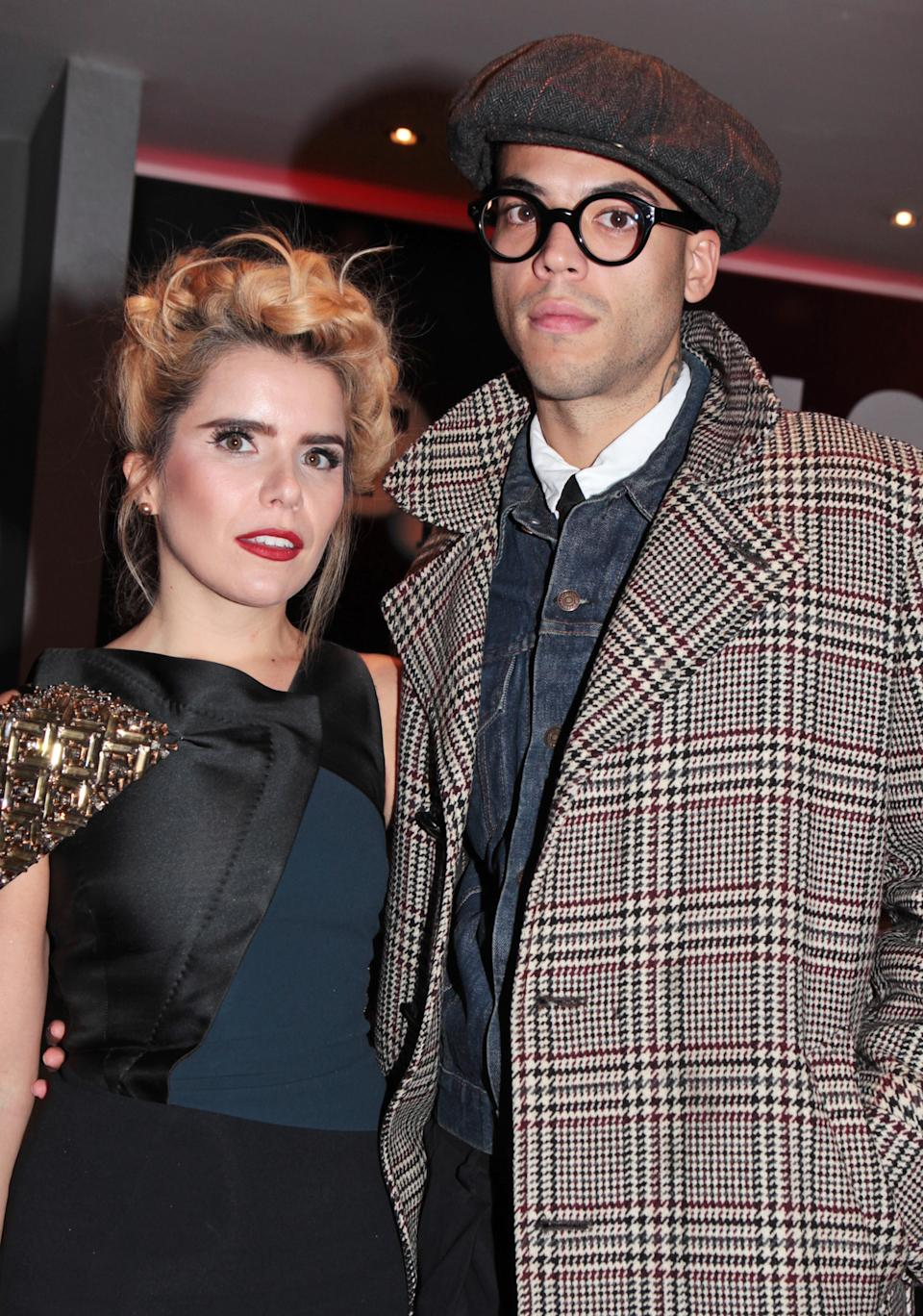 """LONDON, ENGLAND - OCTOBER 15:  Paloma Faith (L) and Leyman Lahcine attend a screening of """"Youth"""" during the BFI London Film Festival at Vue West End on October 15, 2015 in London, England.  (Photo by David M. Benett/Dave Benett/WireImage)"""