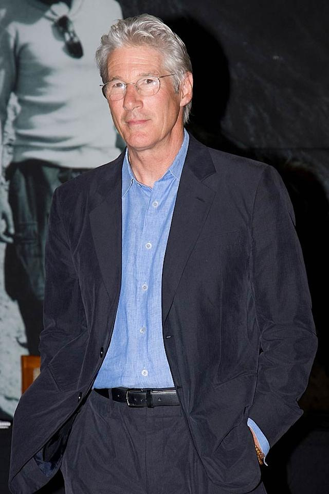 "Richard Gere turns 62. Han Myung-Gu/<a href=""http://www.wireimage.com"" target=""new"">WireImage.com</a> - June 22, 2011"