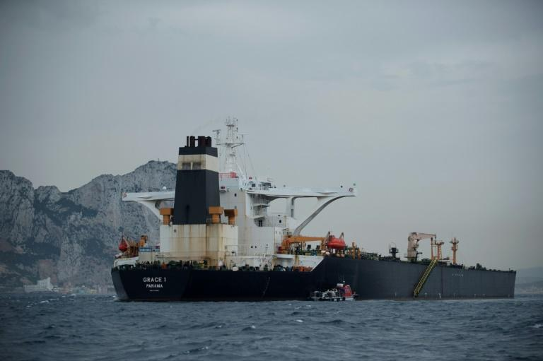 The Grace 1, carrying 2.1 million barrels of Iranian oil, was seized by Gibraltar police and British special forces on July 4, provoking a diplomatic crisis