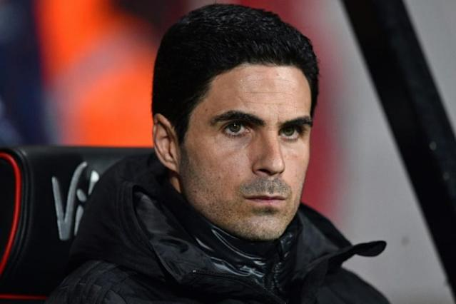 Arsenal manager Mikel Arteta has recovered well after testing positive for COVID-19 (AFP Photo/Glyn KIRK )