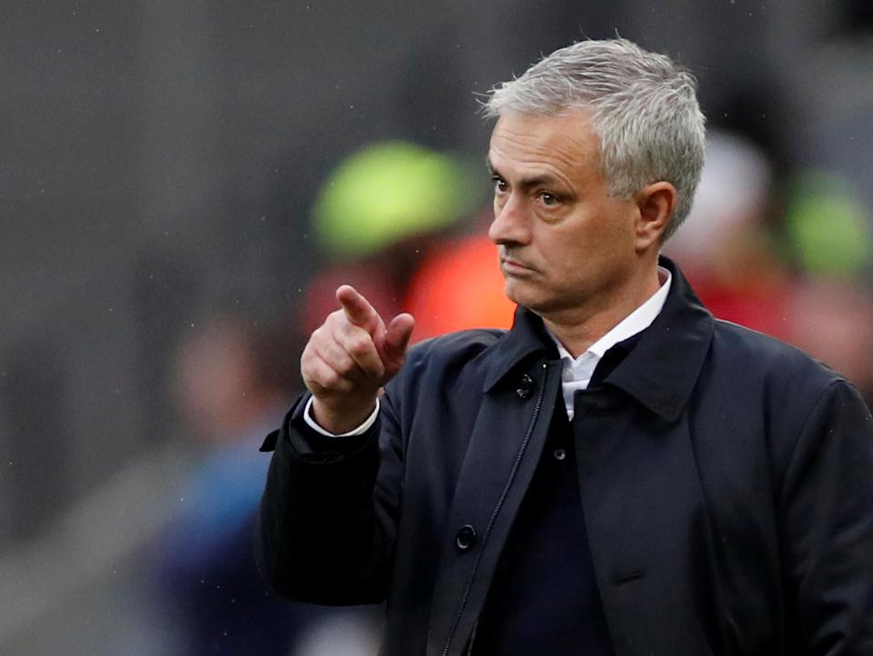 Jose Mourinho will look to get his third win in three games with Tottenham Hotspur this weekend. (REUTERS/David Klein)