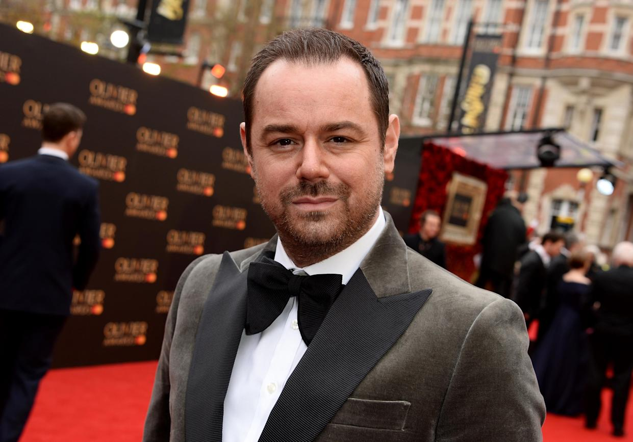 Danny Dyer attends The Olivier Awards with Mastercard at the Royal Albert Hall on April 07, 2019 in London, England. (Photo by Jeff Spicer/Jeff Spicer/Getty Images)
