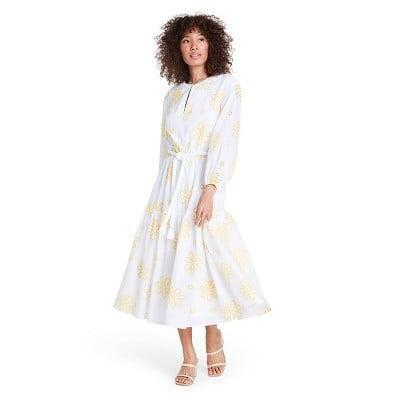 <p>This <span>Alexis Floral Embroidered Dress</span> ($60) looks fresh, charming, and summery. </p>
