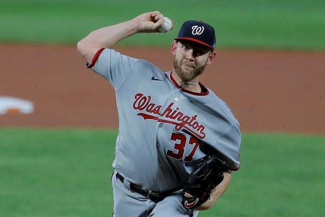 Nationals' Strasburg is done for season, awaits hand surgery