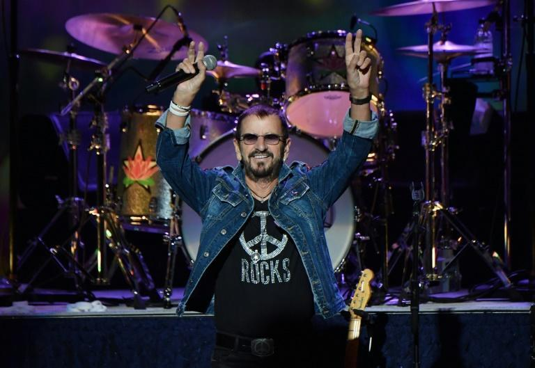 Ringo Starr, shown here performing at the 50th anniversary celebration of Woodstock in upstate New York in 2019, saw his packed touring schedule grounded by the pandemic